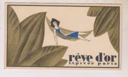 PETIT CALENDRIER SUR CARTE PARFUMEE  En 1937!! - Calendriers