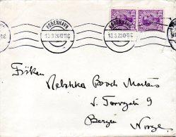 DANEMARK. N°76 Sur Enveloppe Ayant Circulé En 1920. Christian X. - Briefe U. Dokumente