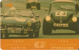 TARJETA DE MACAO DE GRAND PRIX 1990 DE CTM $50 (2MACA) COCHE-CAR - Macau