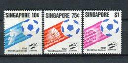 Singapur 1982. Yvert 392-94 ** MNH. - Singapore (1959-...)