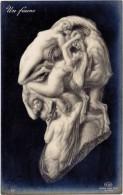 Arcimboldesque – Un Faune ( Homme, Femme Nue ) ELD ( ILL ) - Autres Illustrateurs
