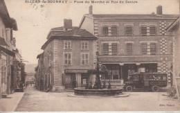 Saint-Jean De Bournay (38-Isère)  Place Du Marché Et Rue Du Centre - Saint-Jean-de-Bournay