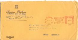 REGIONE SICILIANA - 90100 PALERMO - 1979 - LS/AMR - FTO 12X23 - TEMA TOPIC COMUNI D´ITALIA - STORIA POSTALE - Affrancature Meccaniche Rosse (EMA)