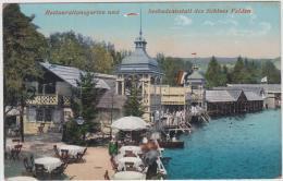 AK - Velden - Restaurantgarten  Und Seebadeanstalt  Des Schloss Velden - 1913 - Velden