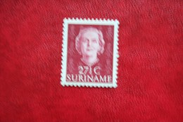 Koningin Juliana 27 1/2 Cent NVPH Nr: 289 1951 MNH / POSTFRIS / ** SURINAME / SURINAM - Surinam ... - 1975
