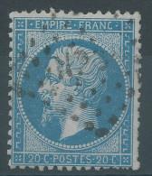 Lot N°30318     N°22, Oblit Losange HP 3° Des Ambulants - 1862 Napoléon III