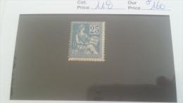LOT 266603 TIMBRE DE FRANCE NEUF* N�118 VALEUR 160 EUROS
