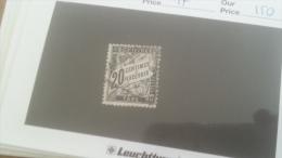 LOT 266635 TIMBRE DE FRANCE OBLITERE N�17 VALEUR 150 EUROS