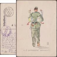 Allemagne 1940. Carte En Franchise Militaire.  2 Gefangene Gemacht, Soldat Allemand Ayant Fait Deux Oies Prisonnières - Oies