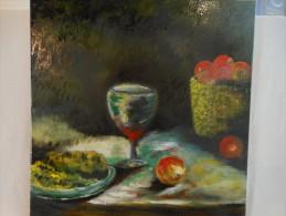 Peinture Signé Claude TO CAM MAT - Oils