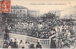 NICE - Carnaval : CORSO Place Massena - CPA - Alpes Maritimes - Carnival