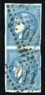 N°45c - Paire Verticale - Belle Nuance - B/TB - 1870 Emission De Bordeaux