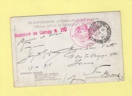 Ospedale Da Campo N. 210 - Posta Militare - 18-4-1916 - Zonder Classificatie