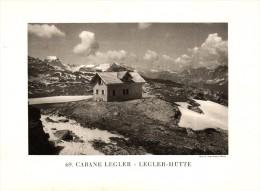 Original Ansicht/ Photographie Von 1927 , Leglerhütte , Elm , Linthal , Ca. 20x13 , Berghütte !!! - GL Glarus