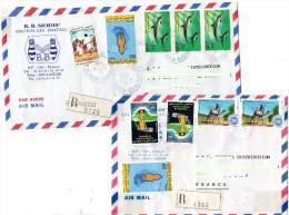 Enveloppes  de la  R�publique de DJIBOUTI