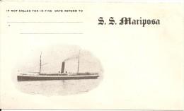 ENVELOPPE SS MARIPOSA - Boats