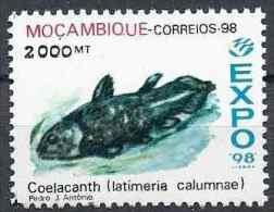 1998 MOZAMBIQUE 1342** Poisson, coelacanthe