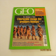 GEO N°310 (12/2004) : L´INCROYABLE VOYAGE DES PREMIERS HOMMES - Géographie