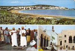 TANGER - MOROCCO - MAROC - MARRUECOS N°48 MULTIVIEW CIRCULEE 1975 EDIT. FOTO ANTONIO GECKO - Tanger