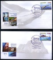 COLOMBIA - UPAEP - ENVIRONMENT CONSERVATION Mi # 2356/7 FDC VF - Timbres