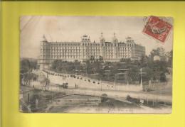 NICE  Carte Postale Ancienne HÔTEL EXCELSIOR REGINA à  NICE Timbre Type SEMEUSE Le 26 01 1908  Voir Scanners - Nizza