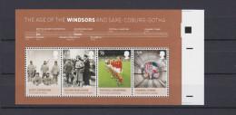 ENGLAND 2012. Minisheet Age Of Windsors Error Cut ** - 1952-.... (Elisabetta II)