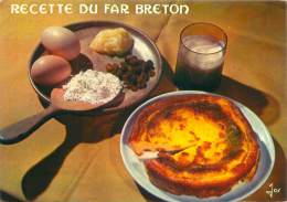 CPM - Recette Du Far Breton - Recettes (cuisine)