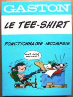 BOITIER VIDE Pour LE TEE-SHIRT GASTON (Franquin) : Fonctionnaire Incompris, 2001 - Gaston