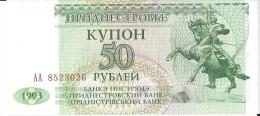 MOLDAVIE - 50 Roubles 1993 UNC Pick 19 - Moldavië