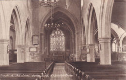 KINGSTON ON THAMES. ALL SAINTS PARISH CHURCH INTERIOR - Surrey