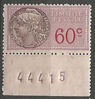 FISCAL /  N° 113  NEUF** SANS CHARNIERE / MNH - Steuermarken