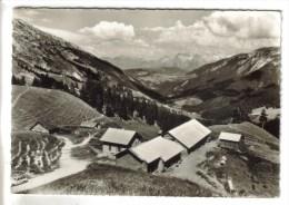 CPSM LE REPOSOIR (Haute Savoie) - LE COL DE LA COLOMBIERE 1618 M Chalets Dans La Montagne - France