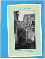PALESTINE-HEBRON Entrée Du Tombeau D'Abraham - Carte Postale-edition - Chocolat D'aiguebelleannées 1900-1 - Palestine