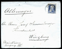 A3203) Belgien Belgium Cover From Commission Royal 15.5.1908 To Germany - 1905 Breiter Bart