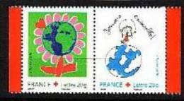 2006. N°P3991**(3991+3992) CROIX ROUGE - Neufs