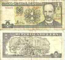 Cuba 1 PESO Pick 121h (2008) TB