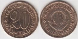 Yugoslavia 20 Para 1973 Km#45 - Used - Jugoslavia