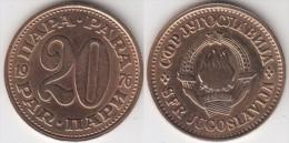 Yugoslavia 20 Para 1976 Km#45 - Used - Jugoslavia