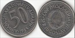 Yugoslavia 50 Dinari 1985 Km#113- Used - Jugoslavia
