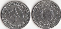 Yugoslavia 50 Dinari 1988 Km#113- Used - Jugoslavia