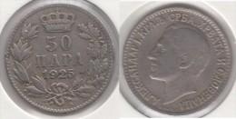 Yugoslavia 50 Para 1925 Km#4 - Used - Jugoslavia