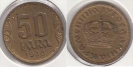 Yugoslavia 50 Para 1938 Km#18 - Used - Jugoslavia