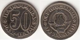 Yugoslavia 50 Para 1965 Km#46.1 - Used - Jugoslavia