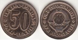 Yugoslavia 50 Para 1973 Km#46.1 - Used - Jugoslavia