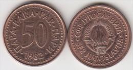 Yugoslavia 50 Para 1982 Km#85 - Used - Jugoslavia