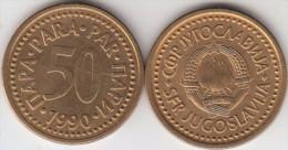 Yugoslavia 50 Para 1990 Km#141 - Used - Jugoslavia