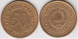 Yugoslavia 50 Para 1991 Km#141 - Used - Jugoslavia