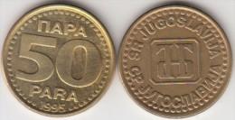 Yugoslavia 50 Para 1995 Km#163a - Used - Jugoslavia