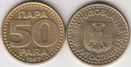 Yugoslavia 50 Para 1997 Km#174 - Used - Jugoslavia
