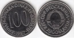 Yugoslavia 100 Dinari 1987 Km#114 - Used - Jugoslavia
